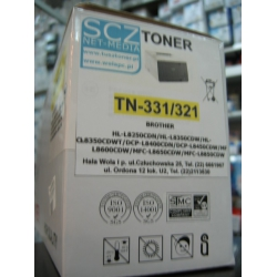 Toner do  Brother TN331/321 Yellow zamiennik DCP L8400 L8450 HL-L8250CDW HL-L8350CDW HL-L8350CDWT