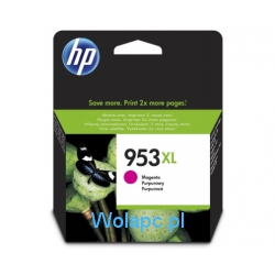 HP 953XL F6U17AE tusz magenta do HP Officejet Pro 8210 8218 8710